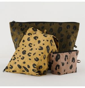 Go-Pouch Leopard Set of 3