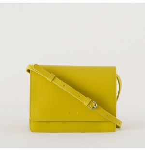 Structured Crossbody Bag Citron Small