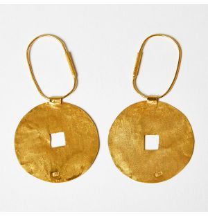 Daire Earrings Gold