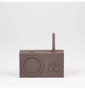 Tykho 3 Bluetooth Speaker Taupe Grey