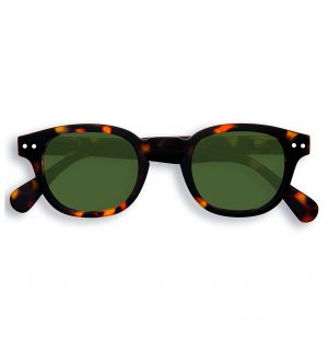 LetMeSee #C Sunglasses Tortoise & Green