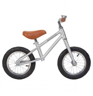 First Go! Balance Bike Chrome
