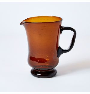 Bubble Jug in Amber
