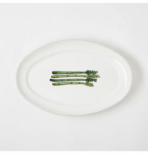 Verdura Asparagus Platter Small