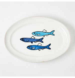 Verdura Fish Platter Large