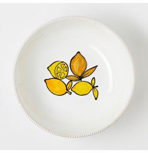Verdura Lemons Serving Bowl 25cm