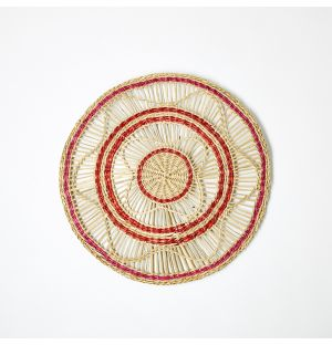 Sapa Woven Placemat Red