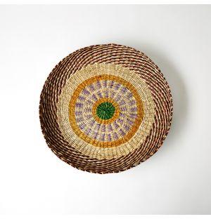 Sapa Woven Serving Bowl Bright 37cm x 4cm