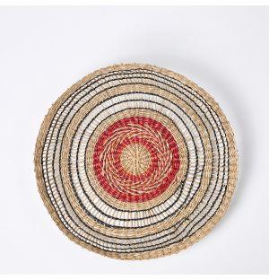 Sapa Woven Serving Bowl Natural 37cm x 4cm