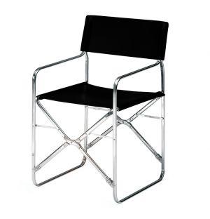 April Folding Outdoor Chair Black