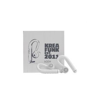 bGEM In-Ear Headphones White