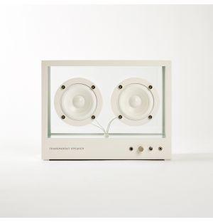 Transparent Speaker White Small
