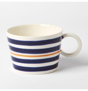 Stripe Mug Blue