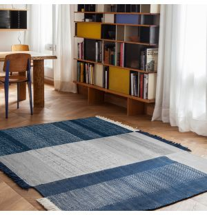 Blue Tres Rug Collection