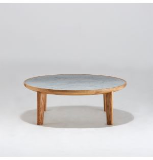 Hole Coffee Table Oak