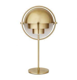 Multi-Lite Table Lamp All Brass