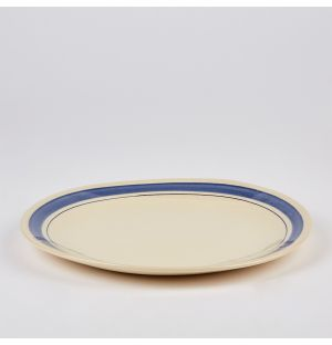 Stripe Dinner Plate 28cm