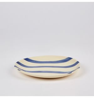 Stripe Side Plate 23cm