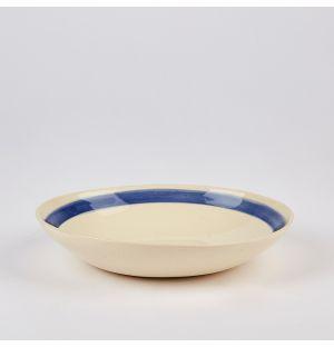 Stripe Flat Bowl