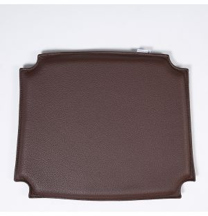 CH24 Wishbone Chair Leather Seat Pad Brown