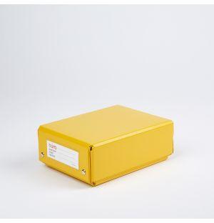 Buro S Folding Box Yellow