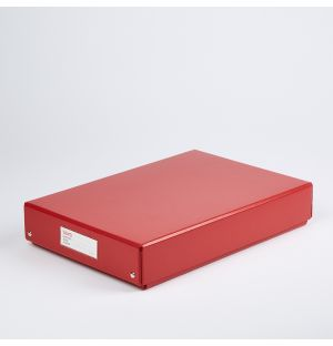 Buro L Folding Box Red