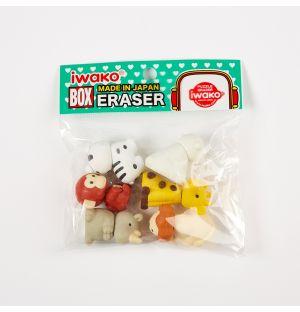 Animal Eraser Set