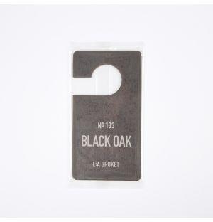 Black Oak Fragrance Tag