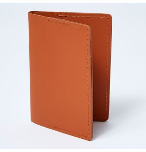 Double Card Holder Tan