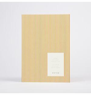 VITA Notebook Ochre Lines Medium