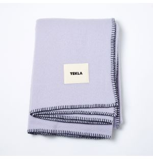 Pure New Wool Blanket Lavender