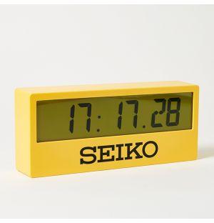 Sports Clock Yellow