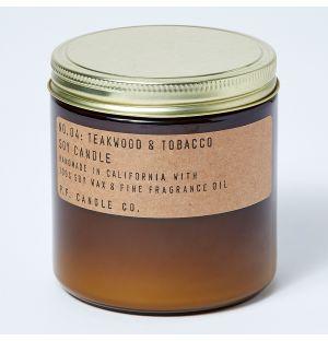 Teakwood & Tobacco Candle