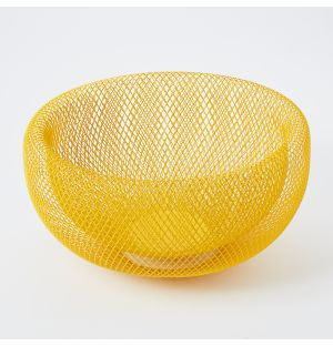 Exclusive Large Marais Basket in Yellow