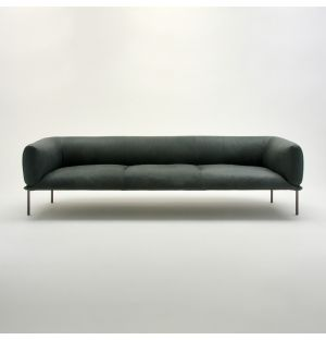 Rondo 3-Seater Sofa Green