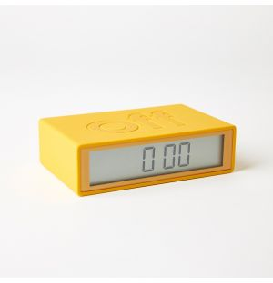 Flip Clock Yellow