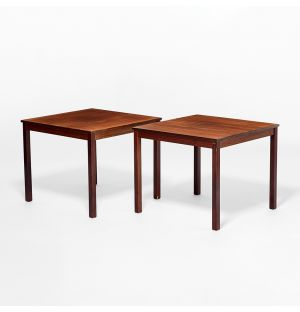 Vintage Side Tables Rosewood c. 1960 Set of 2