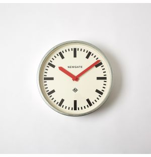 The Luggage Wall Clock Red 30cm