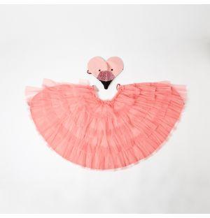 Flamingo Cape Costume Set