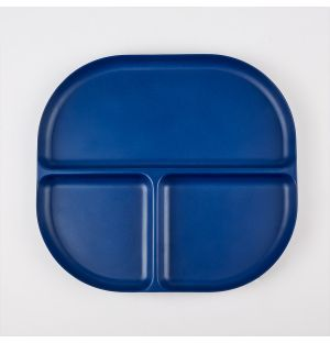 Bamboo Divided Tray Royal Blue