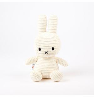 Miffy Corduroy Soft Toy White