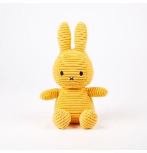 Miffy Corduroy Soft Toy Yellow