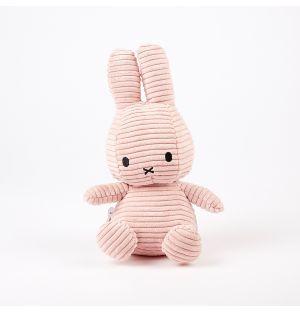 Miffy Corduroy Soft Toy Pink