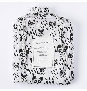 Panda Print Single Duvet Cover