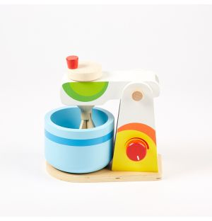Miniature Wooden Mixer