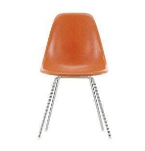 DSX Fiberglass Side Chair Chrome Base
