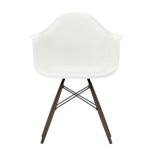 DAW Plastic Armchair Dark Maple Base