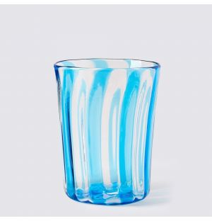 Berlingot Wine Glass Aqua