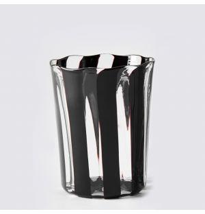 Berlingot Wine Glass Black