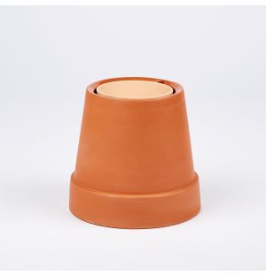 Flipped Planter Terracotta 8cm